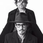 Johnny Depp och Tim Burton
